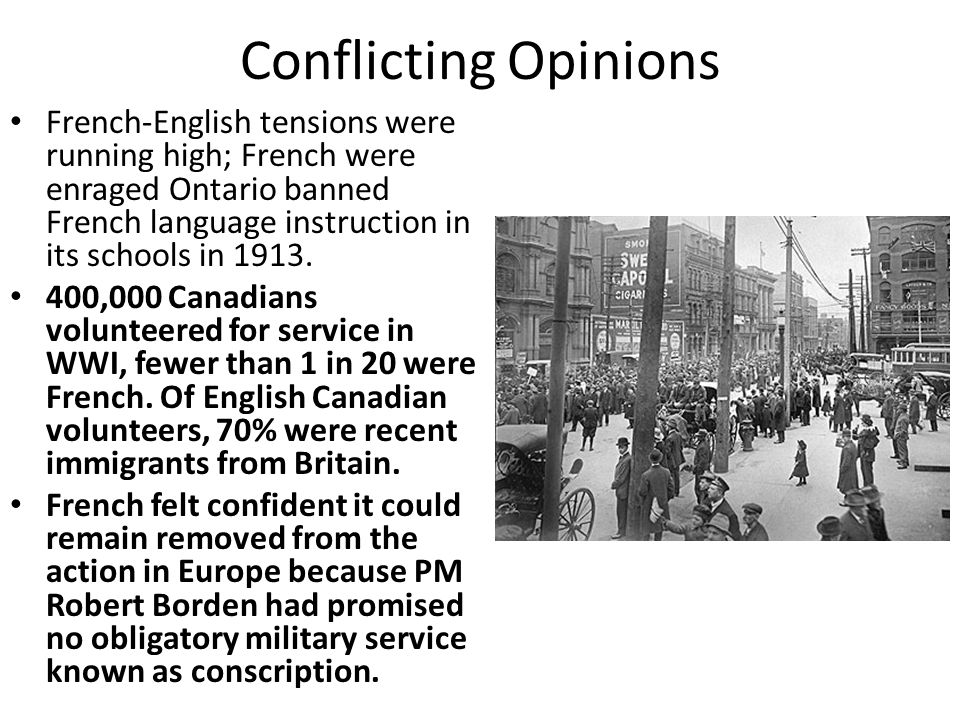 a report on the ideas of conscription The conscription crisis of 1918 had a more profound impact on the derided the idea of conscripting monks from cystic fibrosis report - strides made.