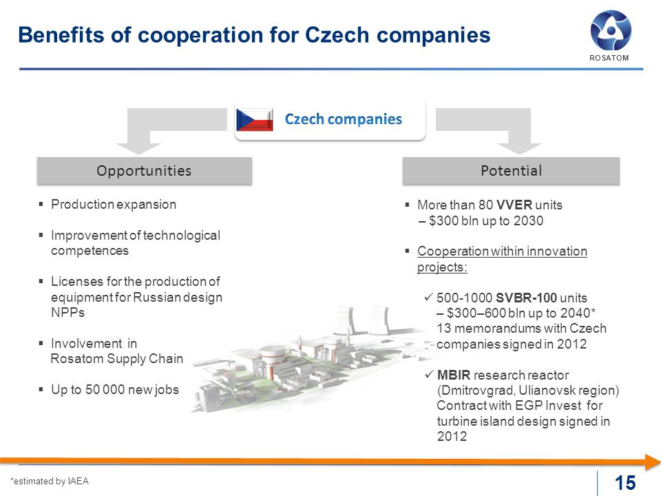 Benefits of cooperation for Czech companies