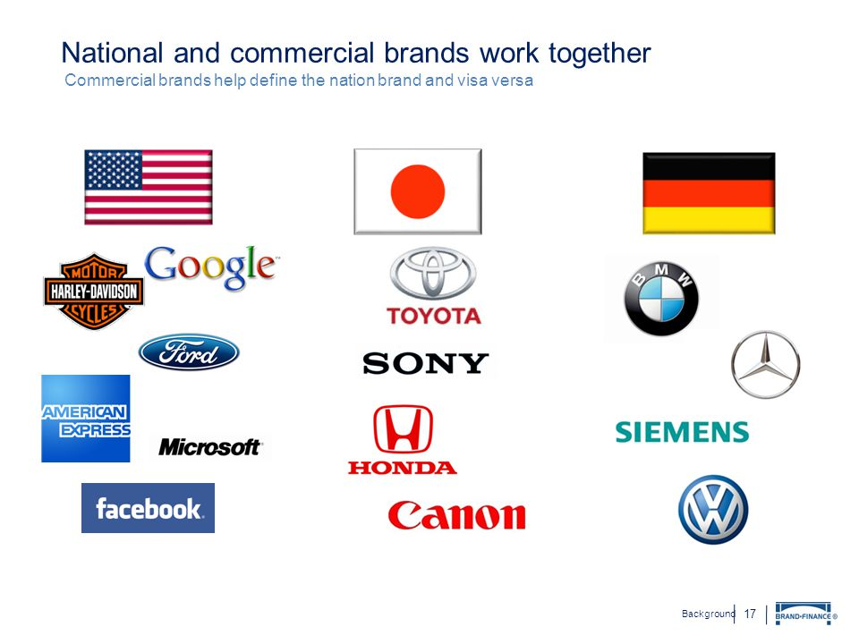 National and commercial brands work together