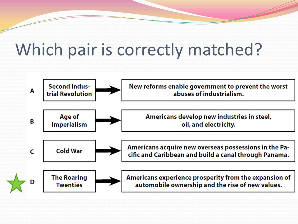 Which pair is correctly matched