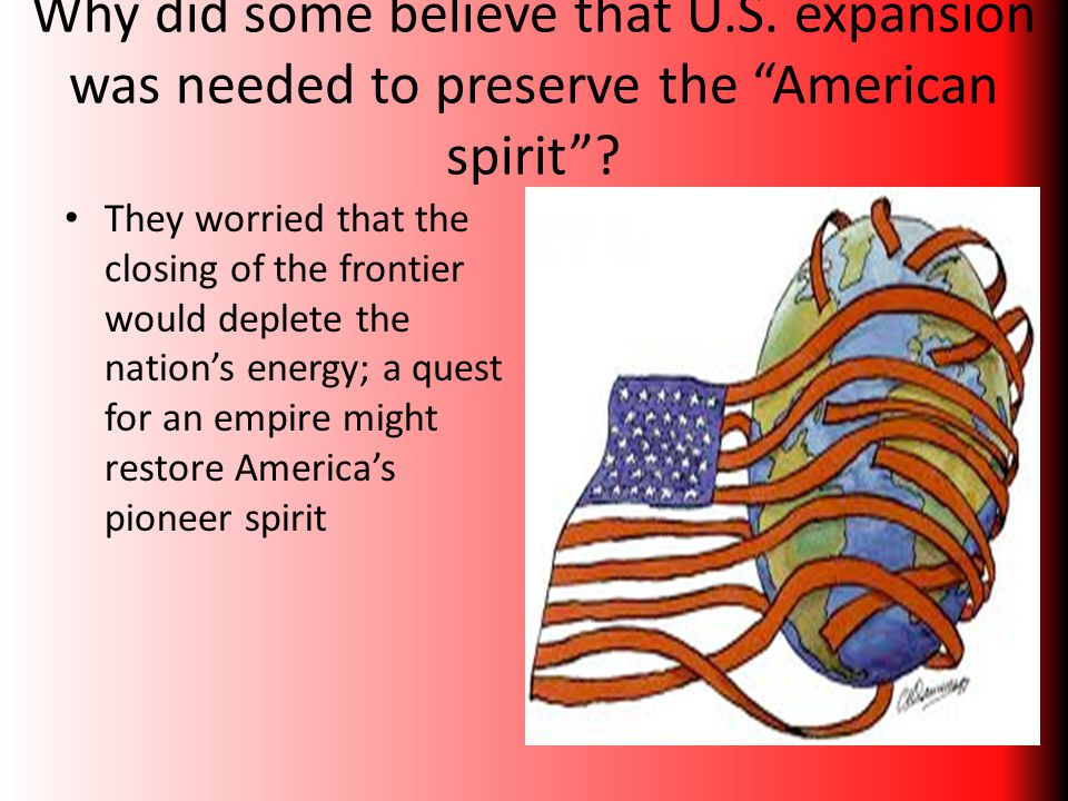 Why did some believe that U. S