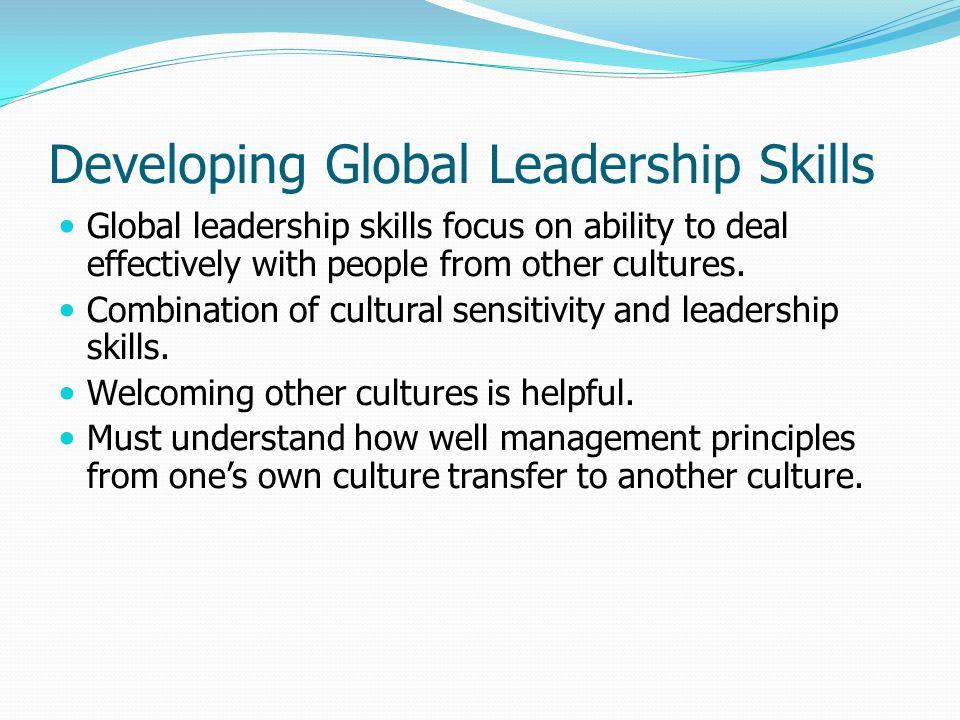 Developing Global Leadership Skills