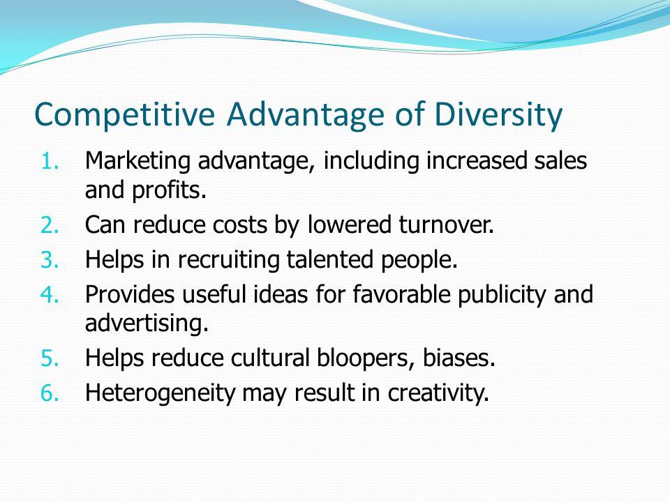 Competitive Advantage of Diversity