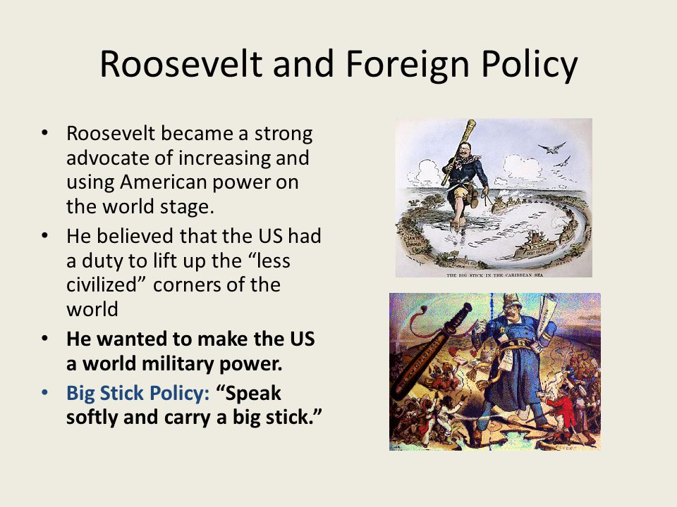 Roosevelt and Foreign Policy