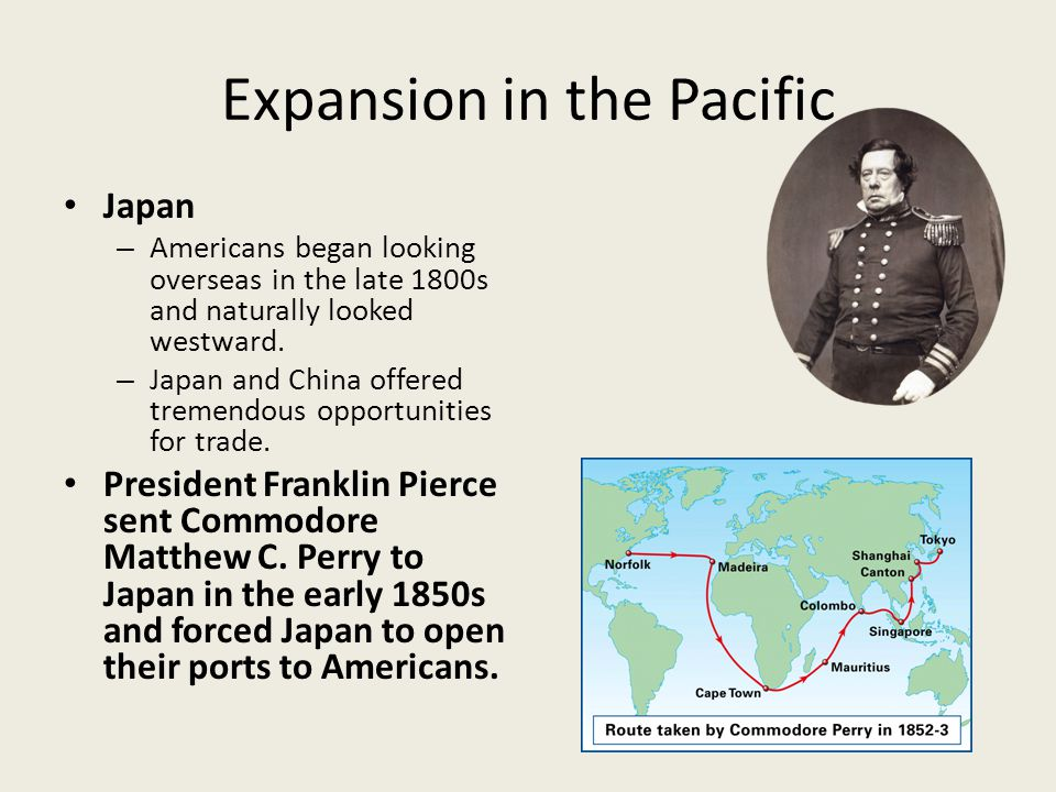 Expansion in the Pacific