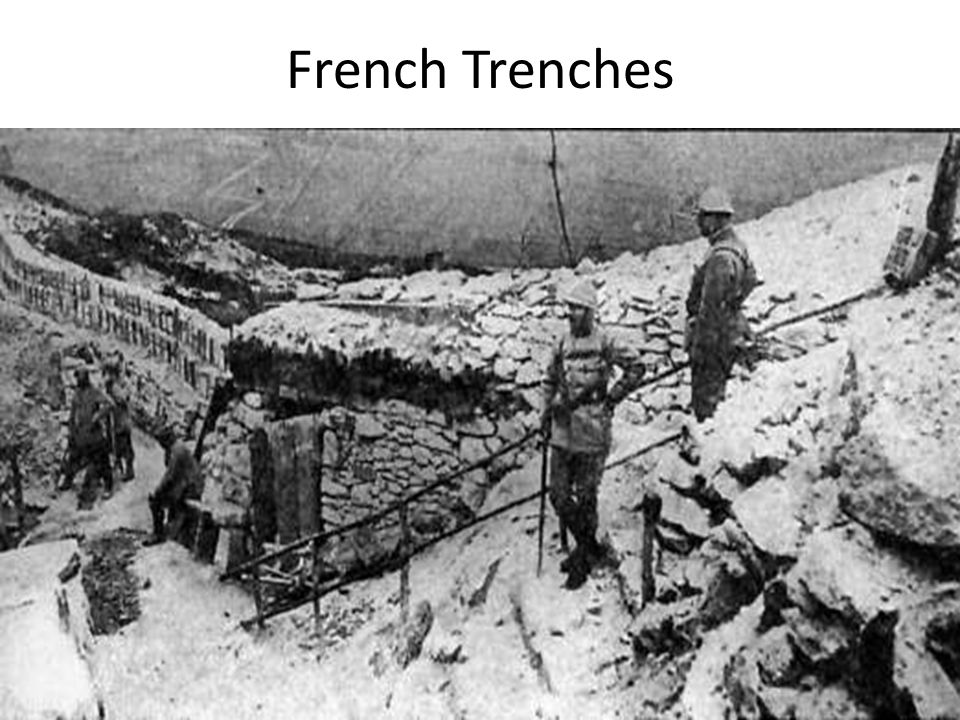 French Trenches