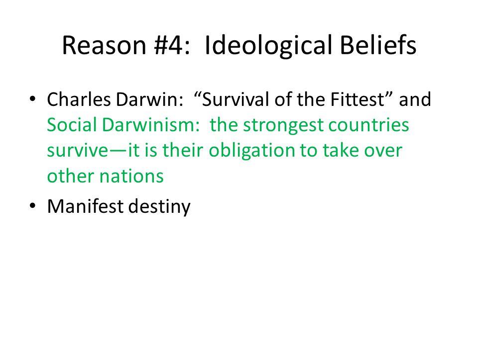 Reason #4: Ideological Beliefs