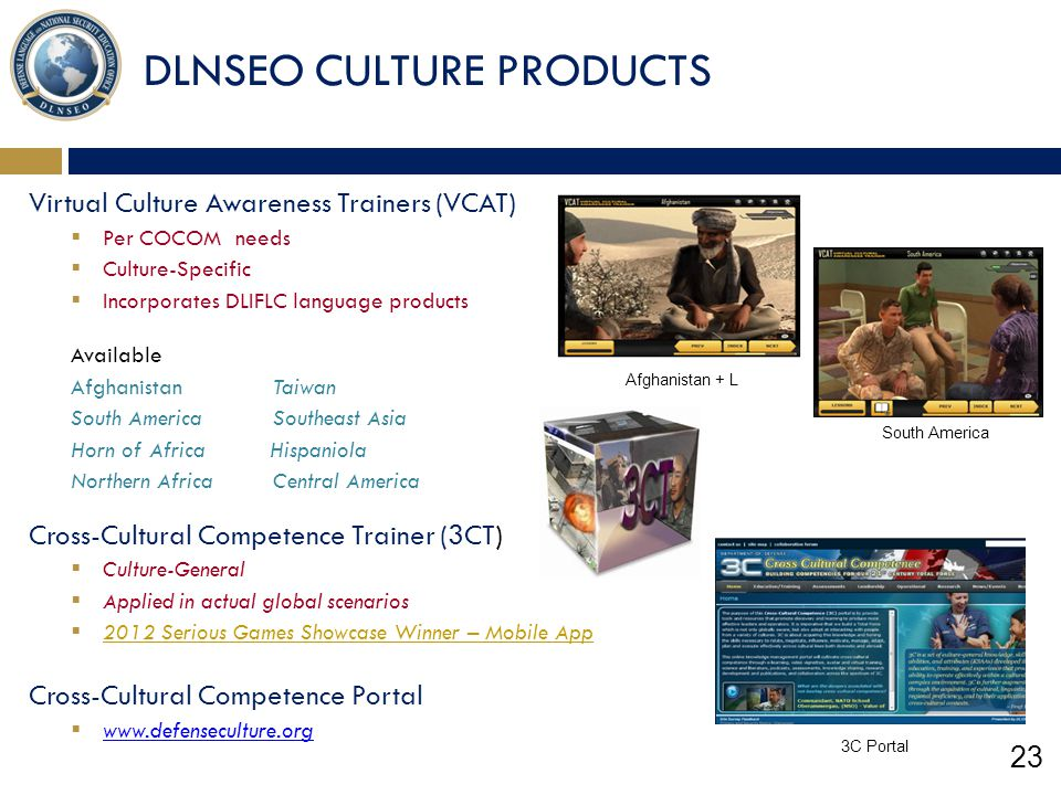 DLNSEO CULTURE PRODUCTS