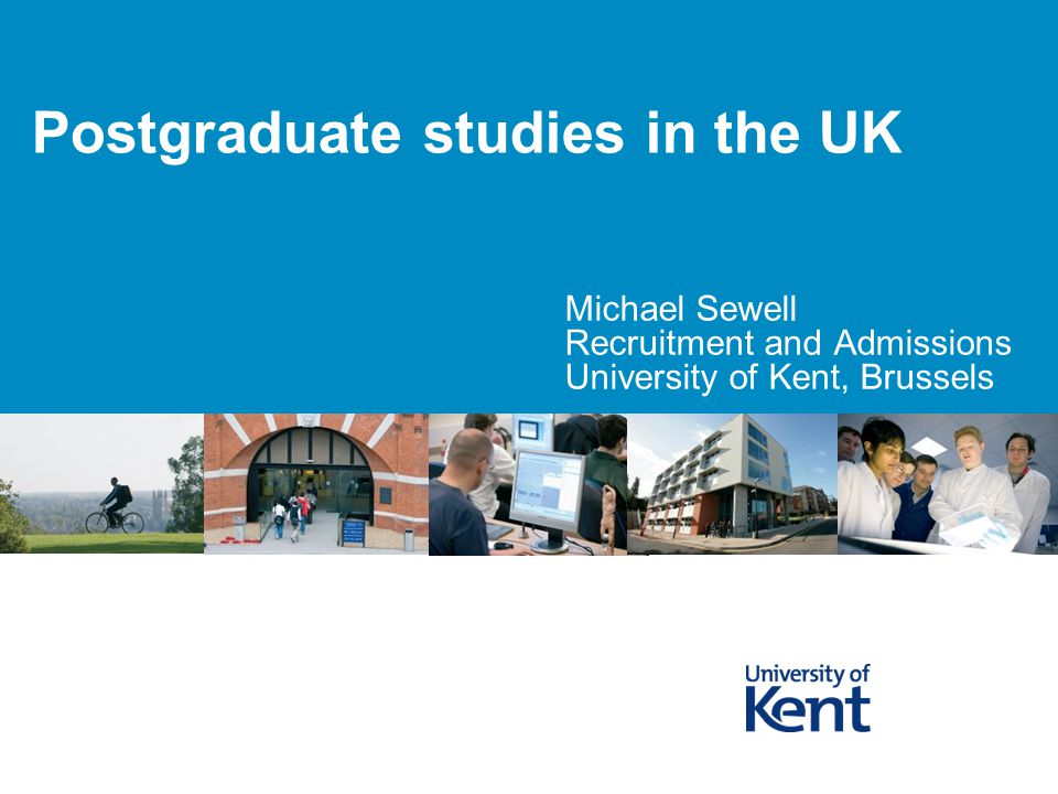 Postgraduate studies in the UK