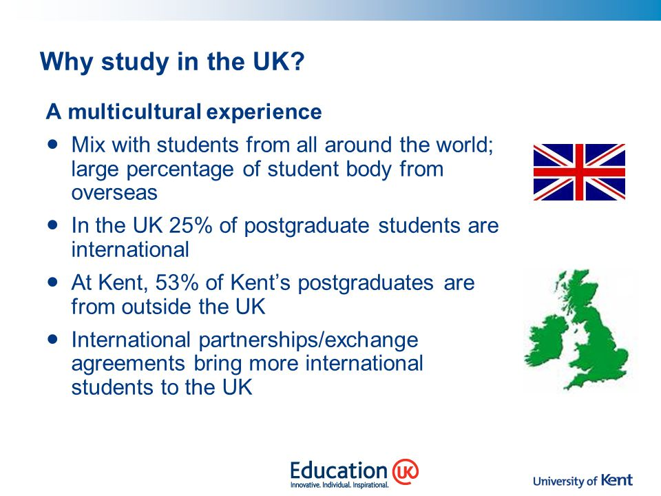 Why study in the UK A multicultural experience