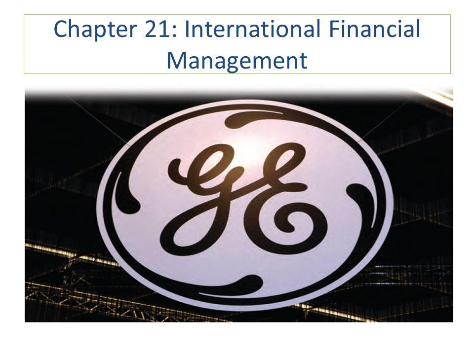 Chapter 21: International Financial Management