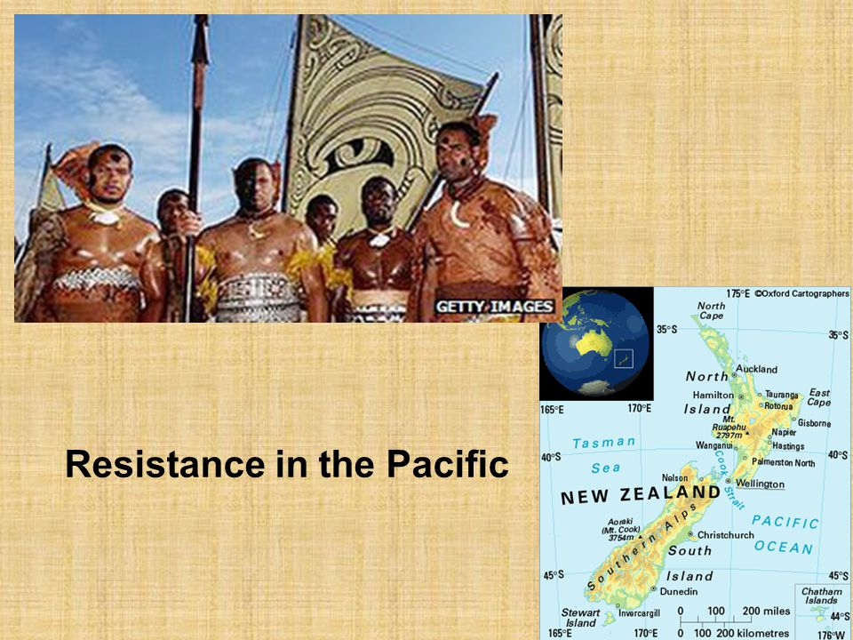 Resistance in the Pacific
