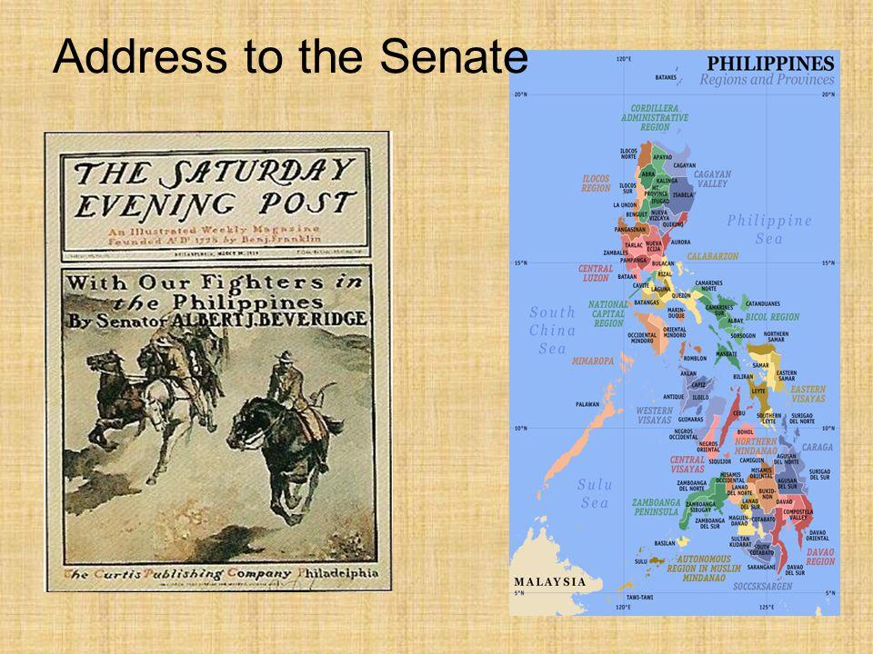Address to the Senate