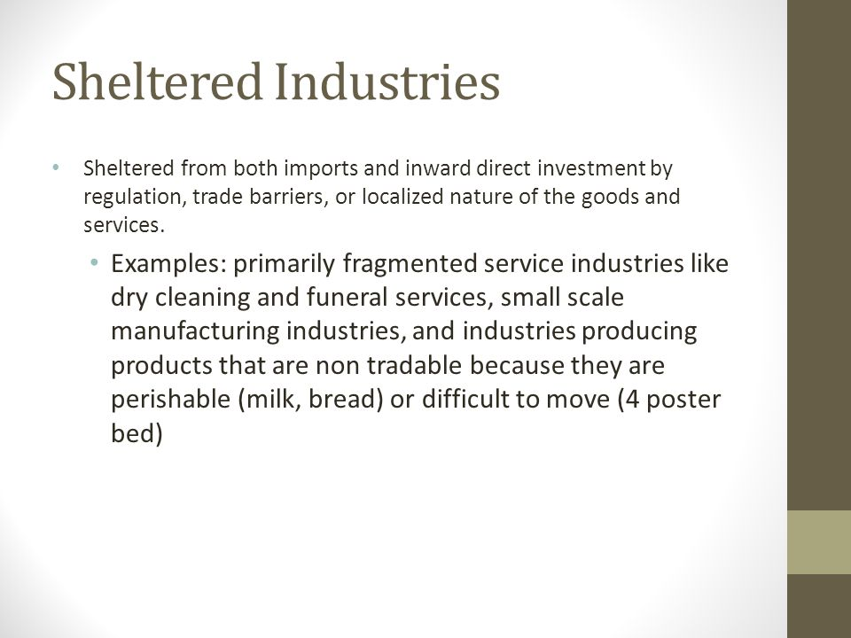 Sheltered Industries