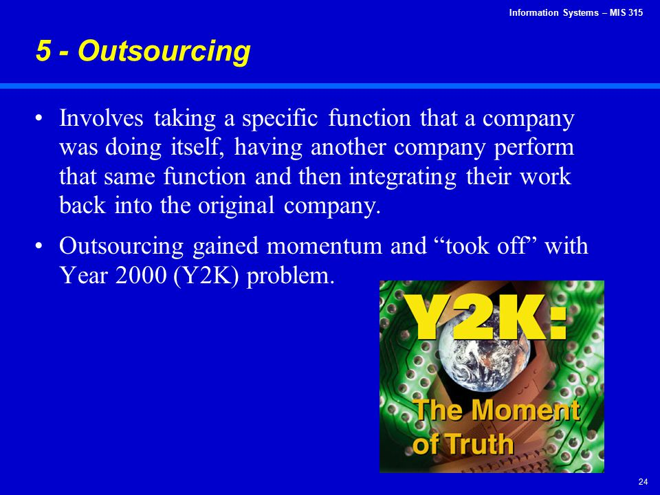 5 - Outsourcing