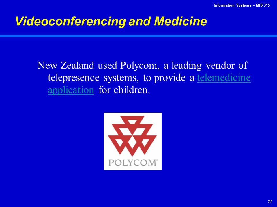 Videoconferencing and Medicine