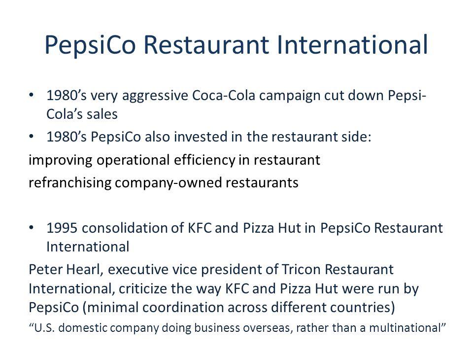 PepsiCo Restaurant International