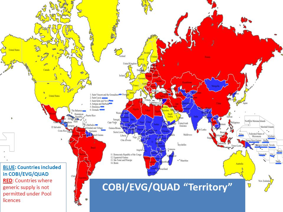 COBI/EVG/QUAD Territory