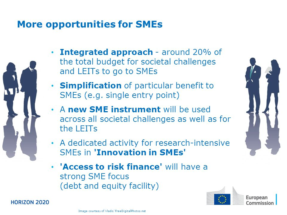 More opportunities for SMEs