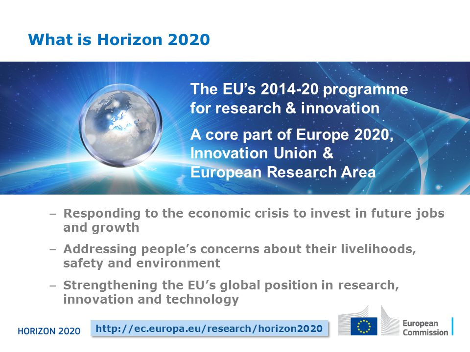 The EU's programme for research & innovation