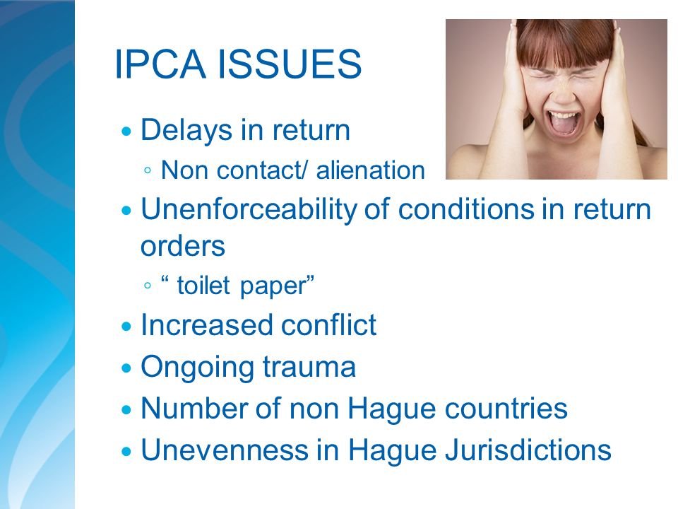 IPCA ISSUES Delays in return