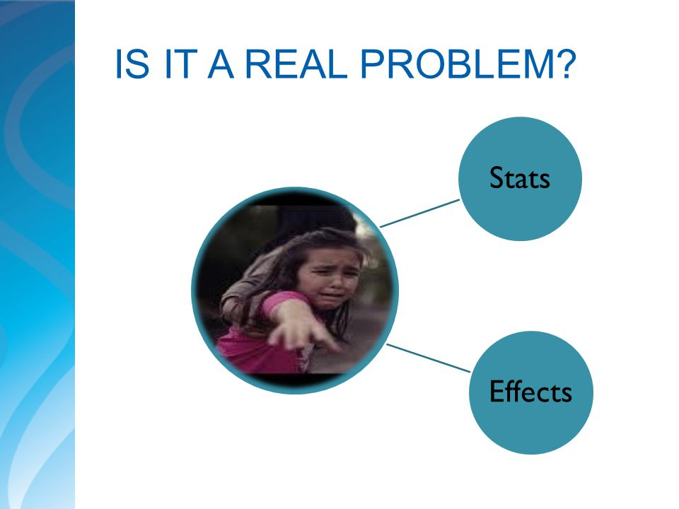 IS IT A REAL PROBLEM Stats Effects