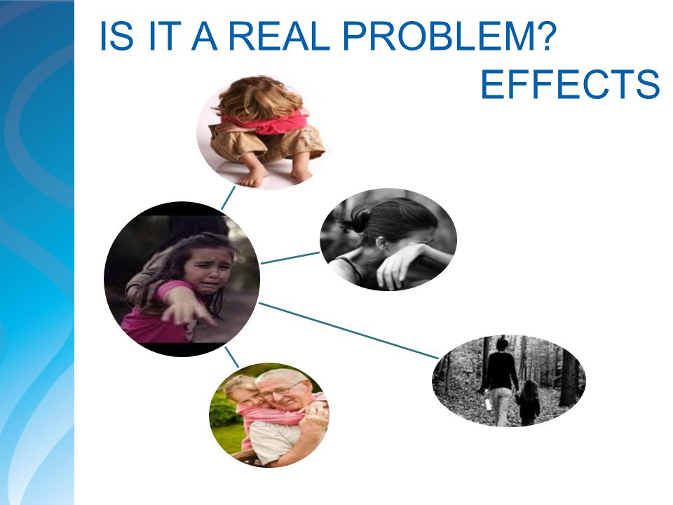 IS IT A REAL PROBLEM EFFECTS