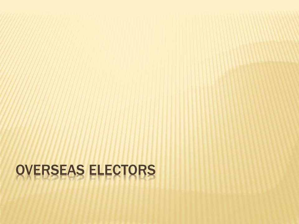 Overseas Electors
