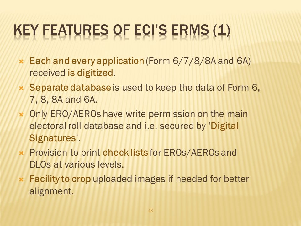 Key Features of ECI's ERMS (1)