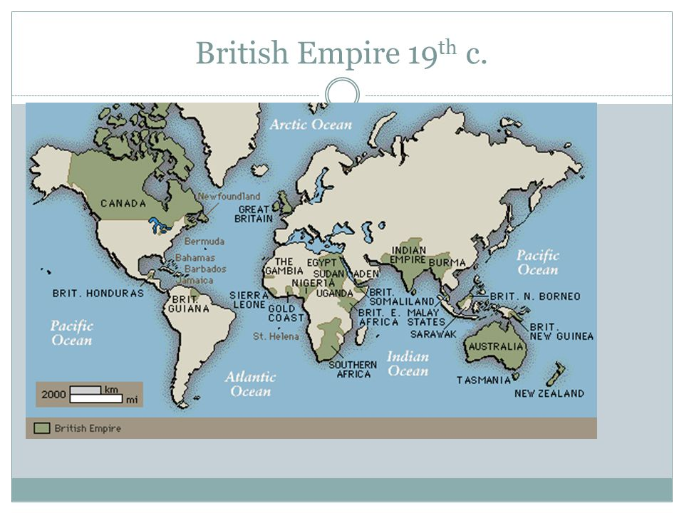 British Empire 19th c.