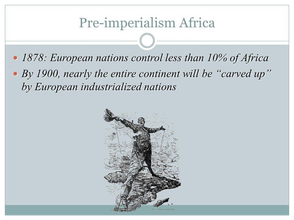 Pre-imperialism Africa