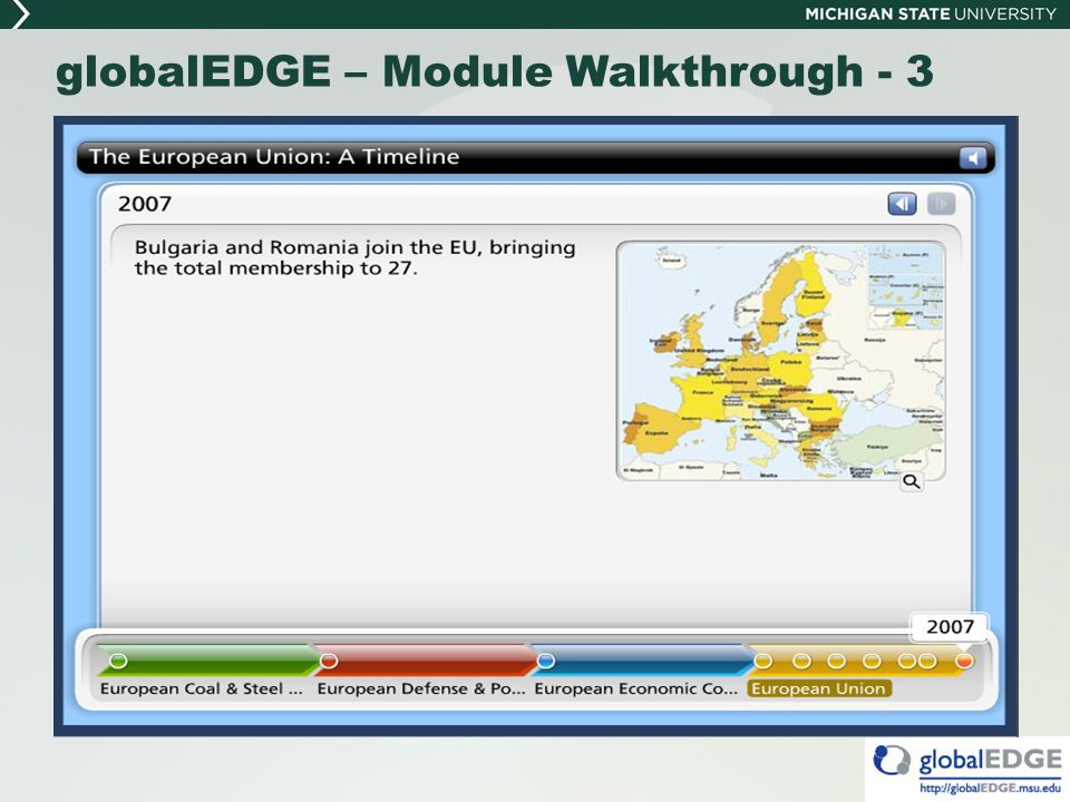 globalEDGE – Module Walkthrough - 3
