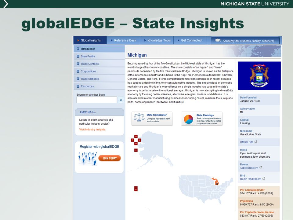 globalEDGE – State Insights