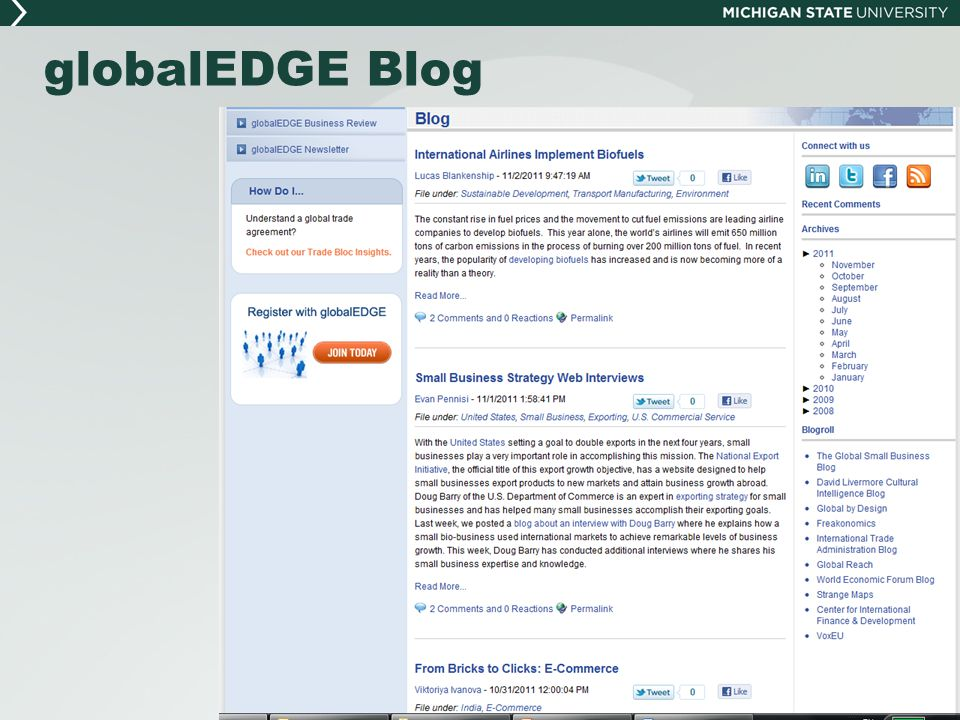 globalEDGE Blog