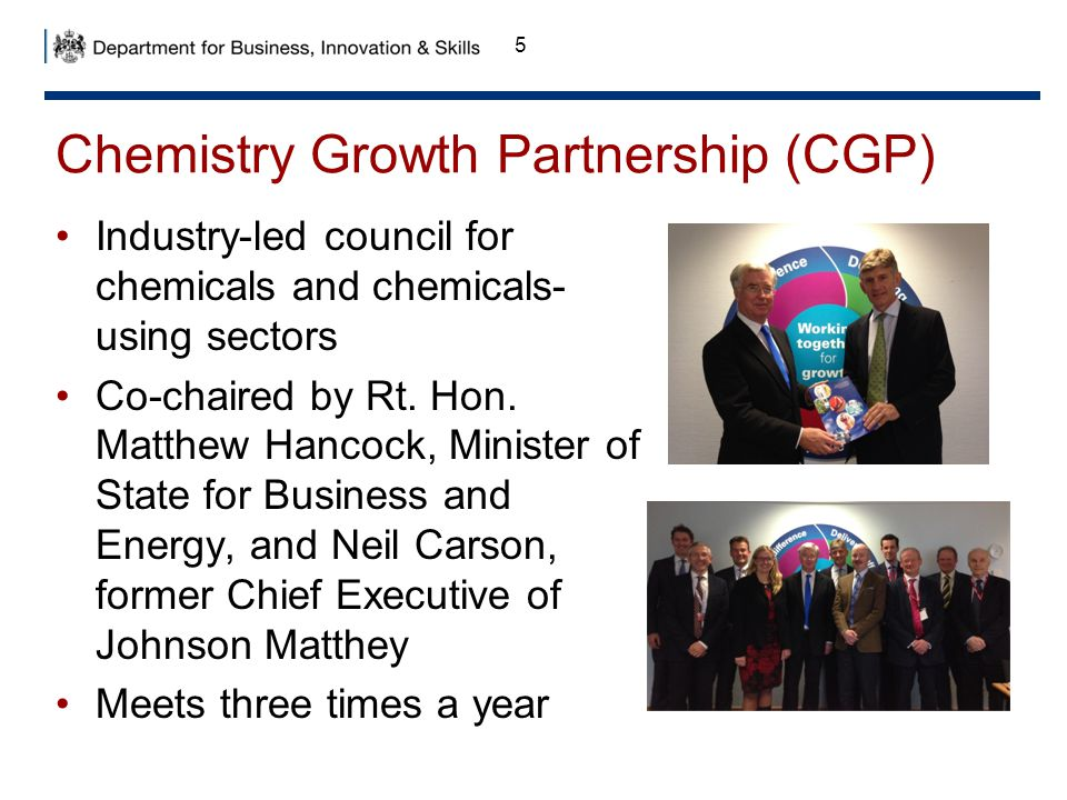 Chemistry Growth Partnership (CGP)