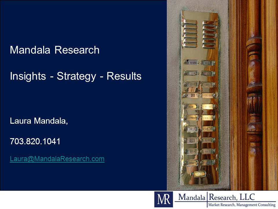 Insights - Strategy - Results