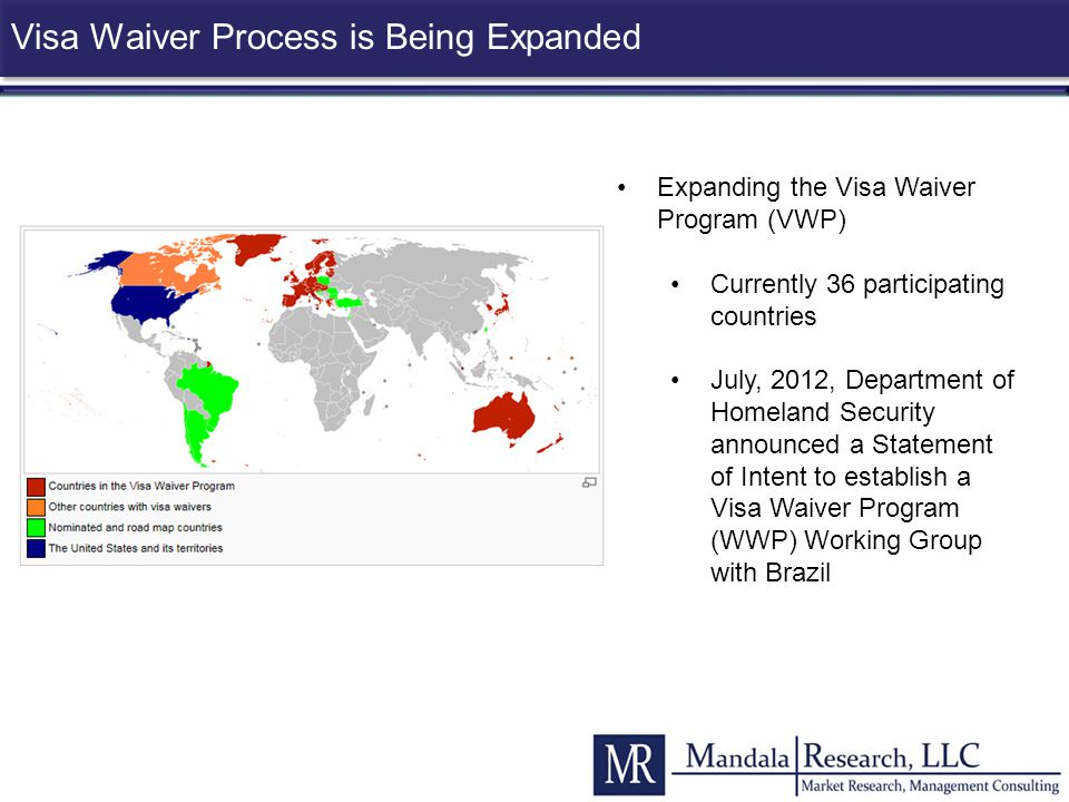 Visa Waiver Process is Being Expanded