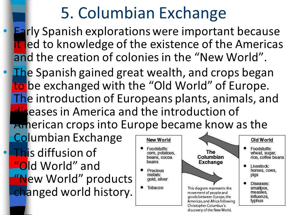 5. Columbian Exchange