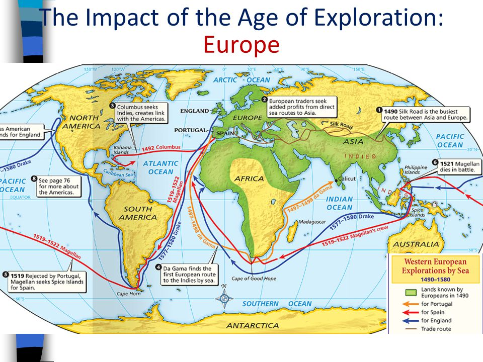 The Impact of the Age of Exploration: Europe