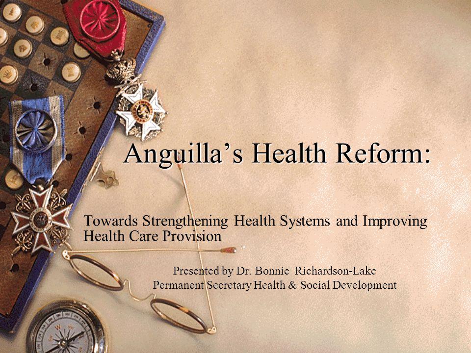 Anguilla's Health Reform: