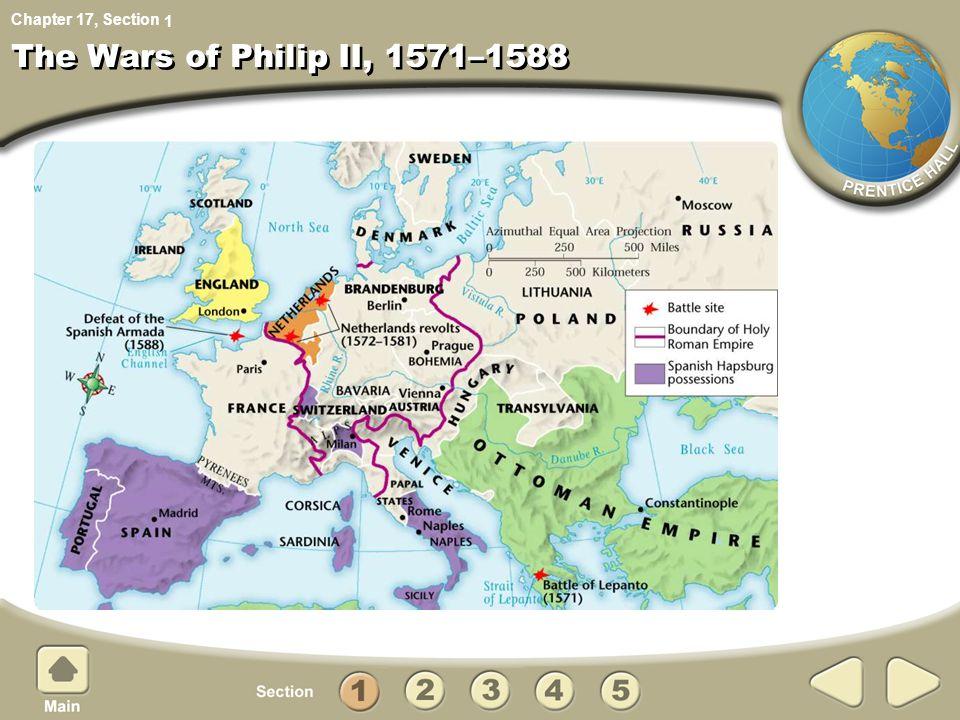 1 The Wars of Philip II, 1571–1588