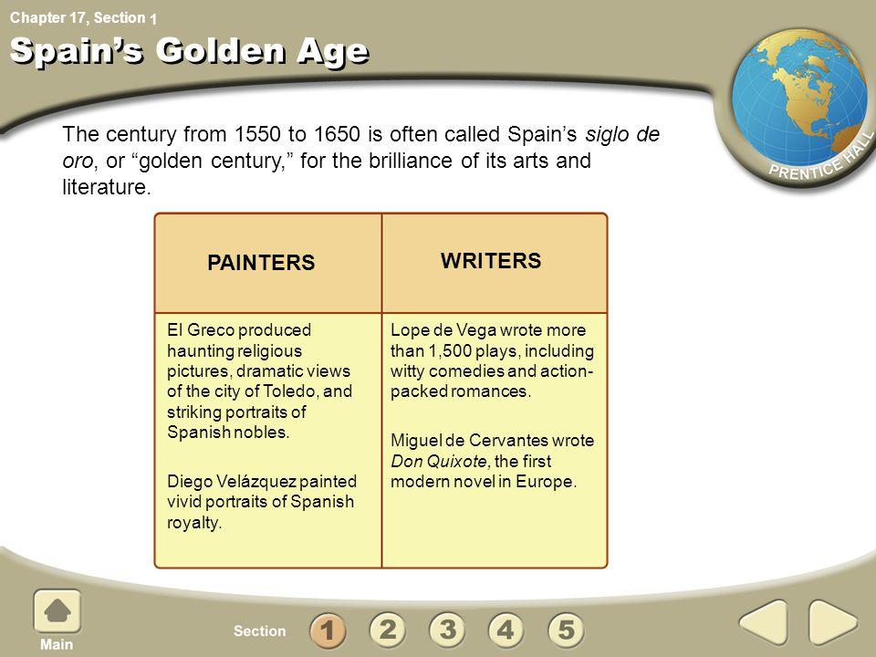 1 Spain's Golden Age.