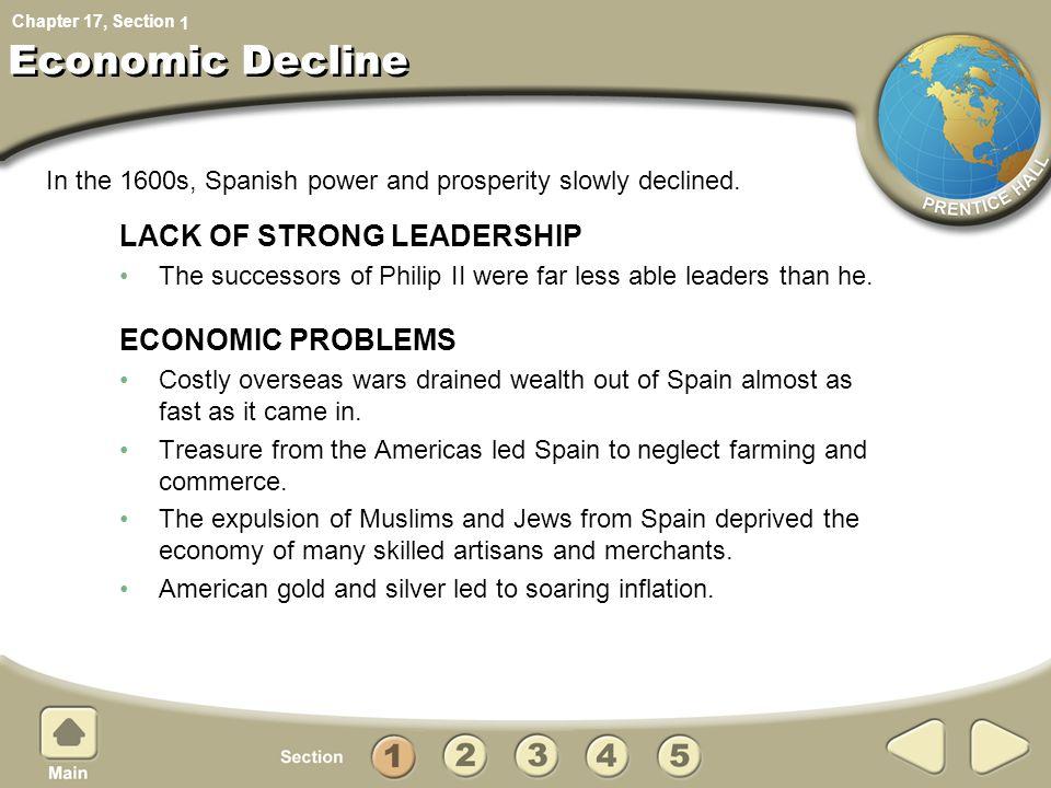 Economic Decline LACK OF STRONG LEADERSHIP ECONOMIC PROBLEMS