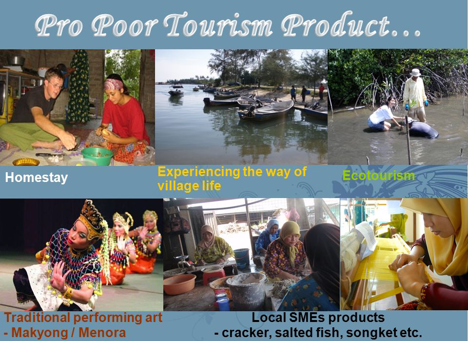 Pro Poor Tourism Product…