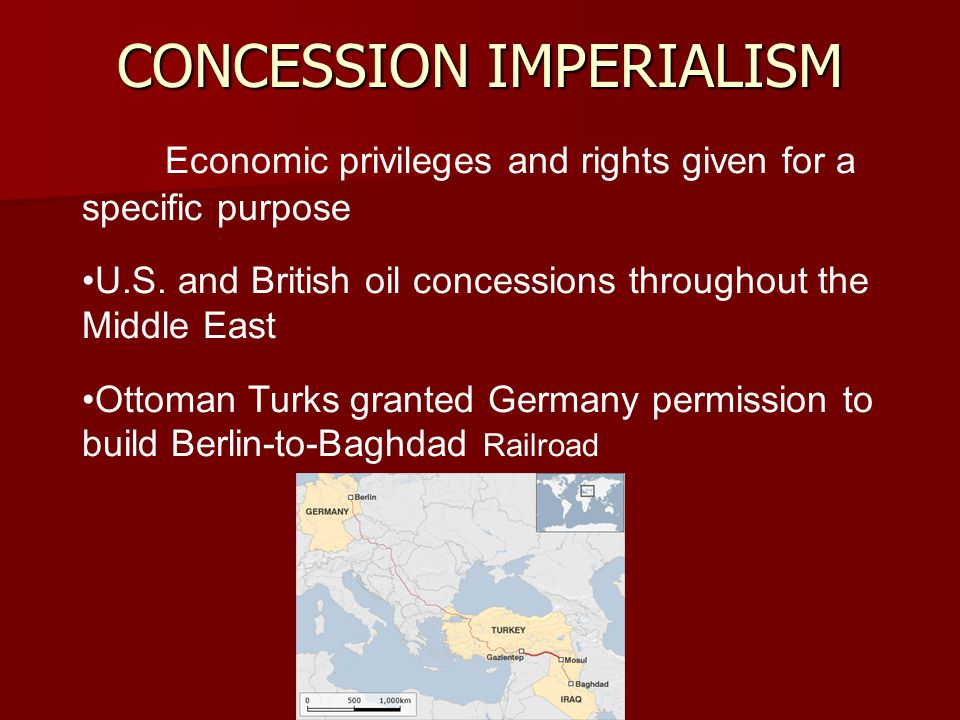 CONCESSION IMPERIALISM