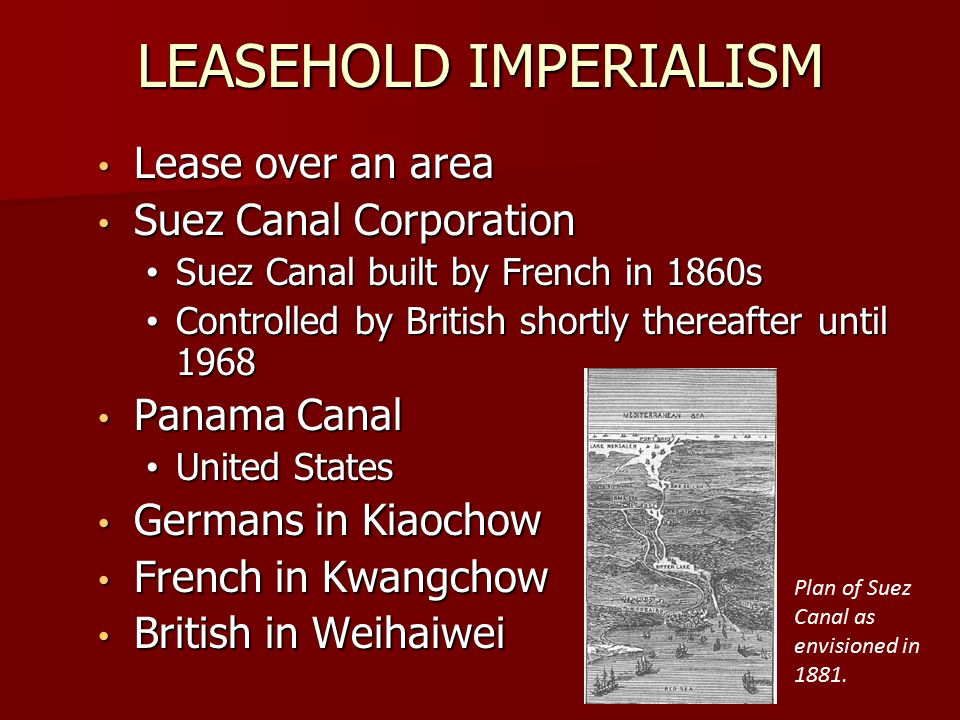 LEASEHOLD IMPERIALISM