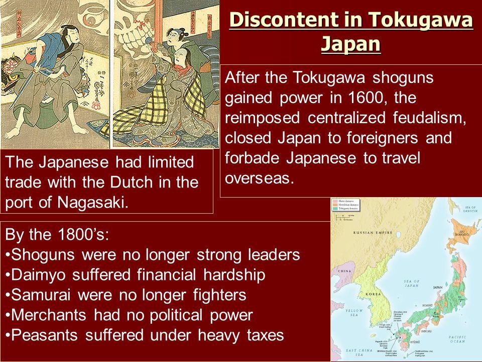 Discontent in Tokugawa Japan