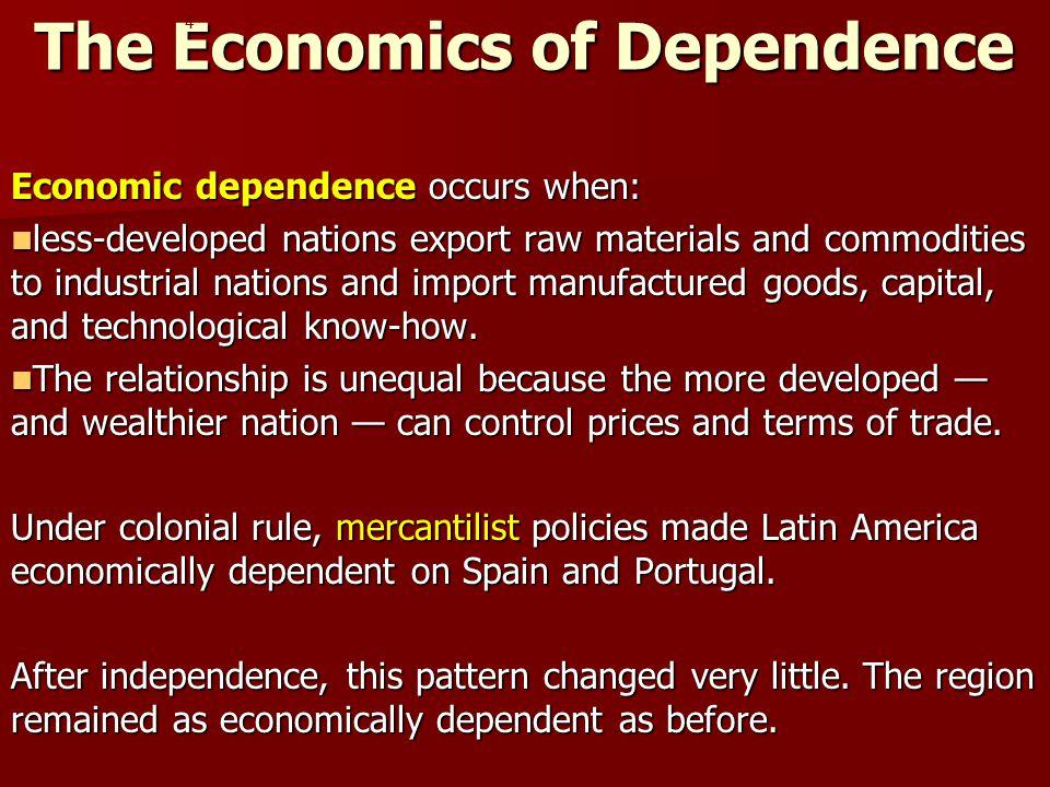 The Economics of Dependence