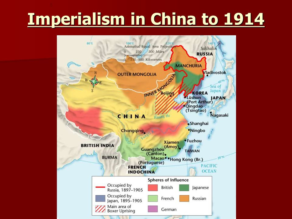 Imperialism in China to 1914