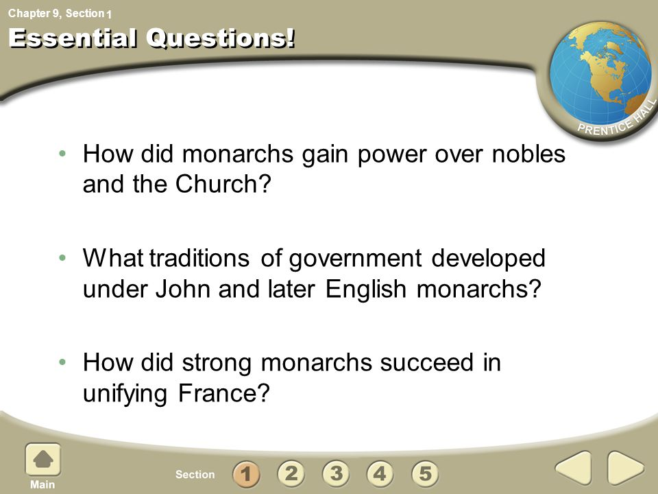 How did monarchs gain power over nobles and the Church